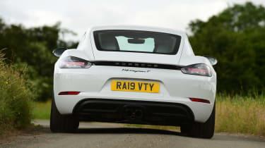 Porsche 718 Cayman T - rear action