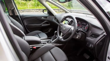 Vauxhall Zafira Tourer 2016 interior