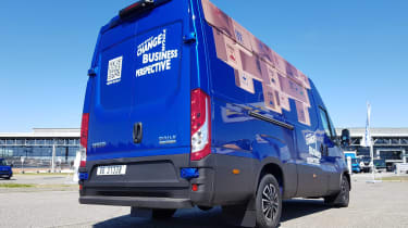 IVECO Daily - rear static