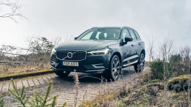 Volvo XC60 ride review - off-road