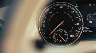 Bentley Bentayga PHEV - dial