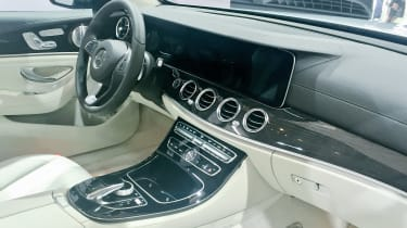 Mercedes E-Class Estate - interior reveal