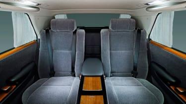 2018 Toyota Century - rear seats