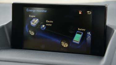 Lexus CT 200h screen