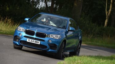 This is the 2015 BMW X6M