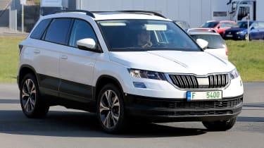 New Skoda Karoq: exclusive images and spy shots - pictures ...