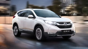 Honda CR-V hybrid front