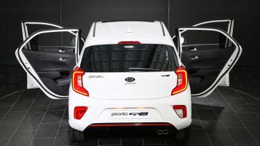 Kia Picanto GT Line 2017 - white rear