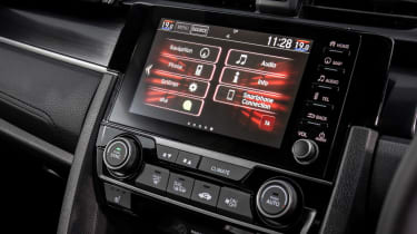 New Honda Civic Sport Line radio