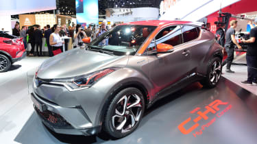Toyota C-HR Hy-Power - Frankfurt show front