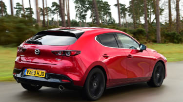 Mazda 3 long term - rear tracking