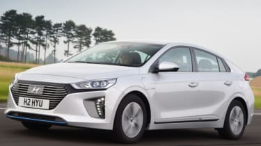 Hyundai Ioniq front