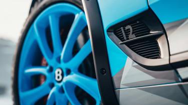 Bentley Continental GT ice racer - wheel