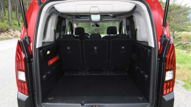 Peugeot Rifter boot space