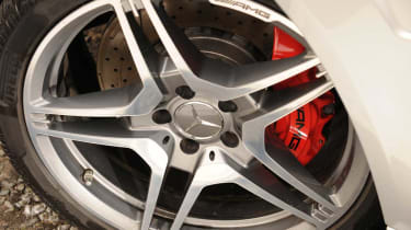 Mercedes E63 AMG wheel