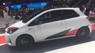 Toyota Yaris GRMN hot hatch 2017 - Geneva side 2