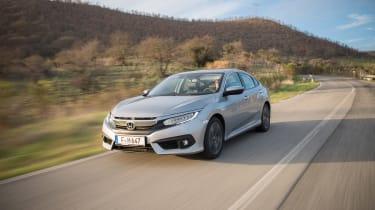 Honda Civic Saloon - front action