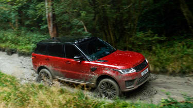 Range Rover Sport - front tracking