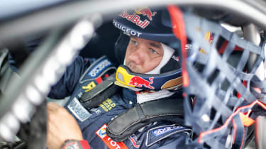 Peugeot Sport - Sebastian Loeb interior