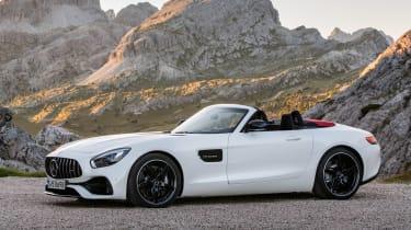 Mercedes-AMG GT C Roadster - white front quarter
