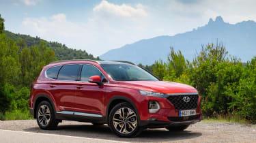 Hyundai Santa Fe - front static