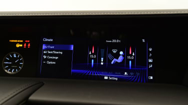 Lexus LC 500h - climate control