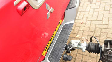 Mitsubishi L200 long-term test - tow bar