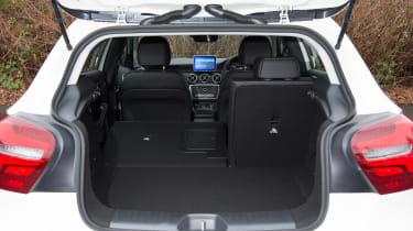 Mercedes A200d boot