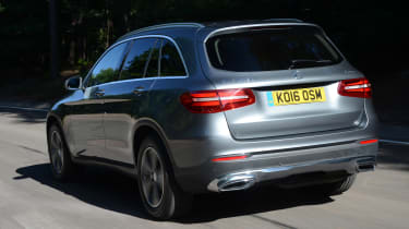 Long-term test review: Mercedes GLC - first report rear tracking