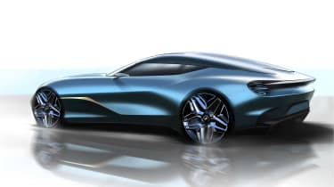 Aston Martin DBS GT Zagato rear