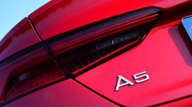 Twin test - Audi A5 - A5 badge