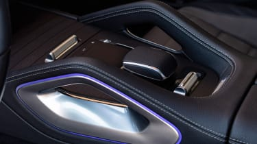 Mercedes GLE - infotainment controls