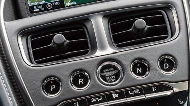 Aston Martin DB11 AMR - centre console
