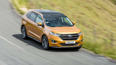 Ford Edge Sport - front above