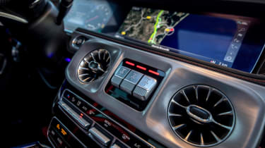 Mercedes-AMG G 63 - vents