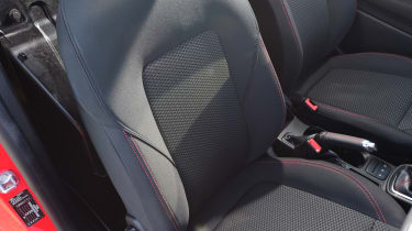 Ford Fiesta Sport Van seats