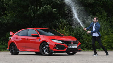 Honda Civic Type R long-term test review - champagne
