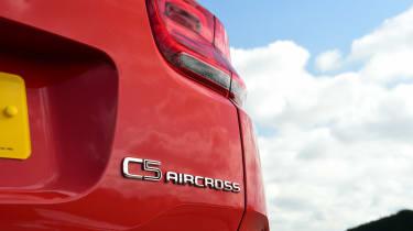 Citroen C5 Aircross PHEV long termer - first report C5 Aircross badge