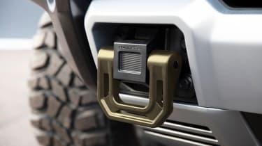 Hummer EV GMC - tow eye