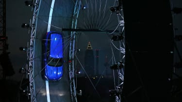 Jaguar F-Pace loops the loop