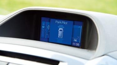 Ford Transit Custom Double-Cab - dash display