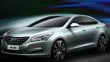 Hyundai Mistra concept front