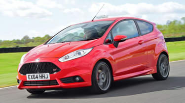 Ford Fiesta ST - front