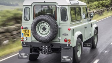 Cool cars: the top 10 coolest cars - Land Rover Defender rear