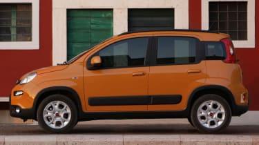 Fiat Panda Trekking side static
