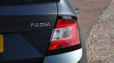 Skoda Fabia - rear light