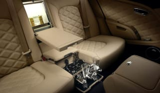 Bentley Mulsanne Mulliner interior
