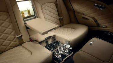 Bentley Mulsanne Mulliner interior