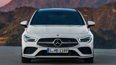 Mercedes CLA Shooting Brake - full front