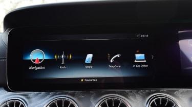 Mercedes CLS air vents